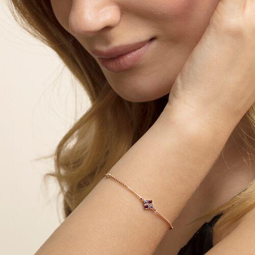 """Armband """"Royalty Farbige Steine"""" aus der Glam & Soul Kollektion im Online Shop von THOMAS SABO"""