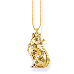 necklace cat constellation gold from the Glam & Soul collection in the THOMAS SABO online store