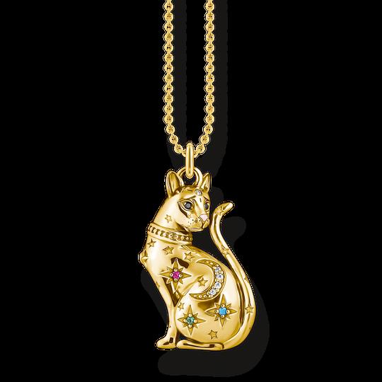 Kette Katze Sternenbild gold aus der Glam & Soul Kollektion im Online Shop von THOMAS SABO