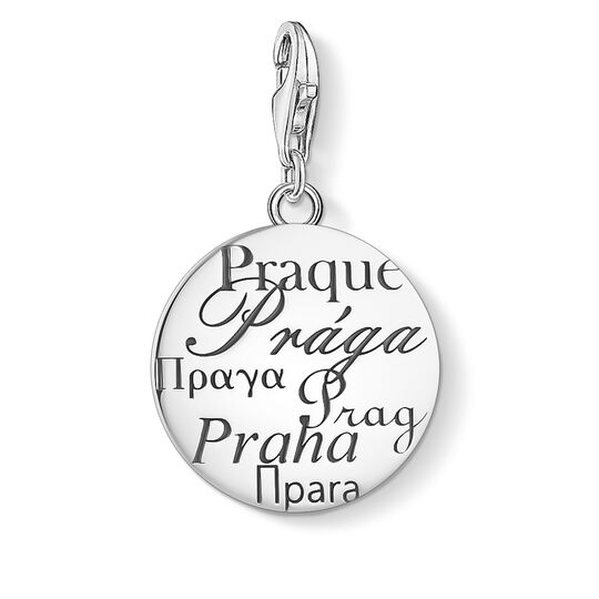 Charm pendant Prague silver from the Charm Club collection in the THOMAS SABO online store