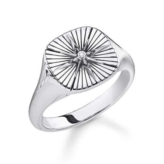 ring vintage star from the Rebel at heart collection in the THOMAS SABO online store