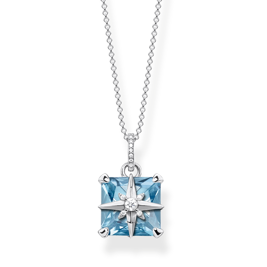 necklace Blue stone with star from the Glam & Soul collection in the THOMAS SABO online store