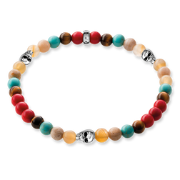 """bracciale """"teschio"""" from the Rebel at heart collection in the THOMAS SABO online store"""