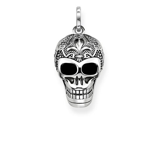 pendant lily skull from the Rebel at heart collection in the THOMAS SABO online store