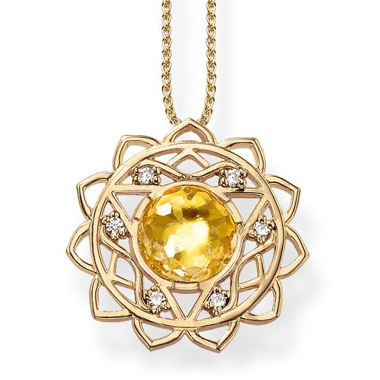 necklace solar plexus chakra from the Chakras collection in the THOMAS SABO online store