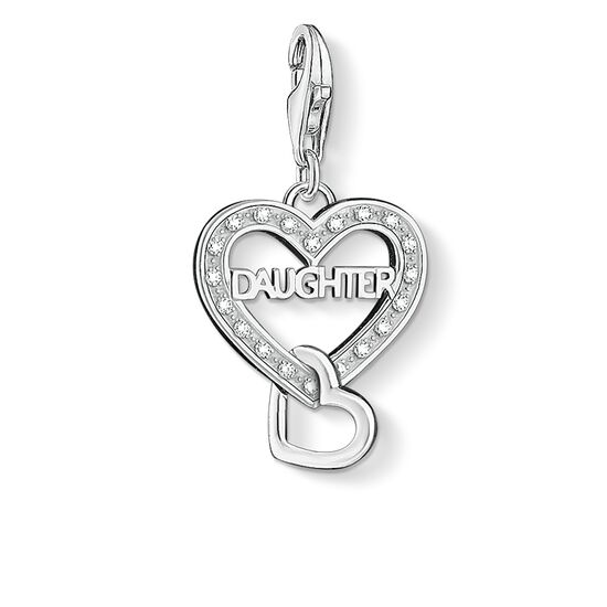 "ciondolo Charm ""DAUGHTER"" from the  collection in the THOMAS SABO online store"