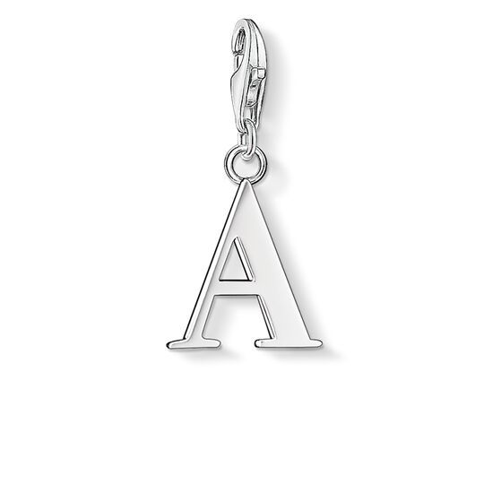 "Charm pendant ""letter A"" from the  collection in the THOMAS SABO online store"