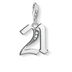 "Charm pendant ""21"" from the  collection in the THOMAS SABO online store"