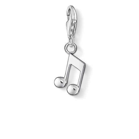 "Charm pendant ""note"" from the  collection in the THOMAS SABO online store"