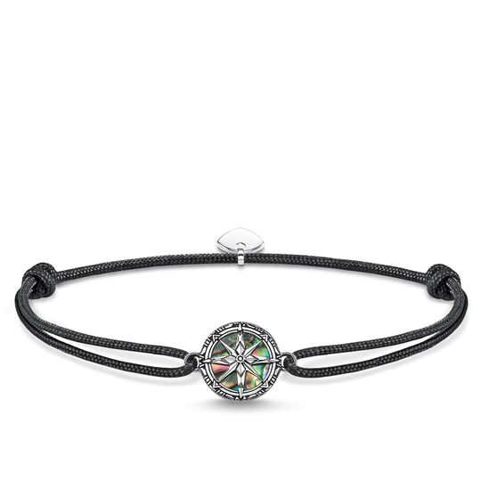 Bracelet Little Secret Compass Mother of Pearl Abalone from the Rebel at heart collection in the THOMAS SABO online store