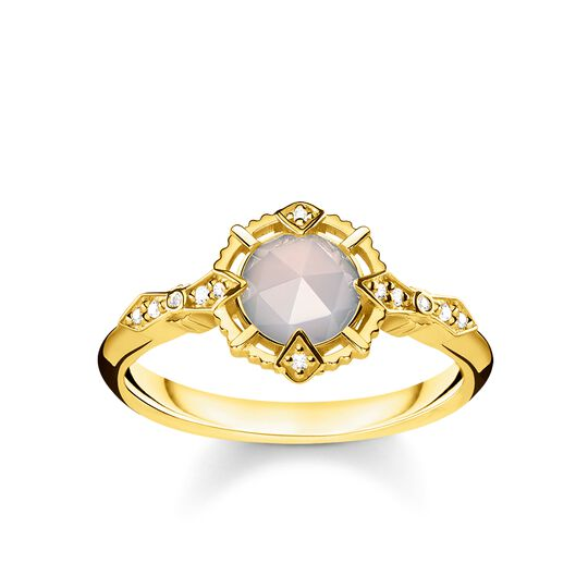 ring vintage white from the Glam & Soul collection in the THOMAS SABO online store