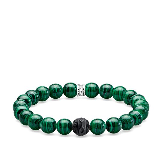 bracelet black cat green from the Rebel at heart collection in the THOMAS SABO online store