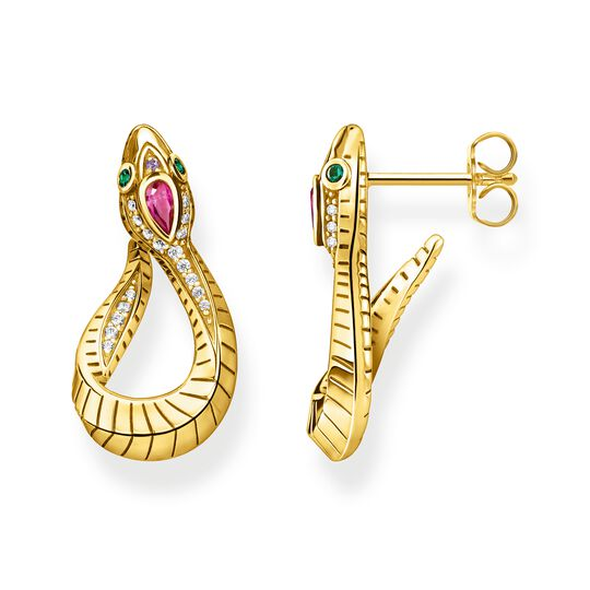 Earrings snake gold from the Glam & Soul collection in the THOMAS SABO online store
