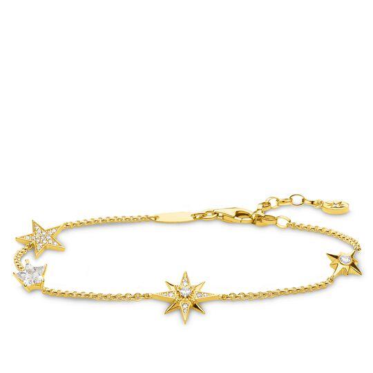 Armband Sterne gold aus der Glam & Soul Kollektion im Online Shop von THOMAS SABO
