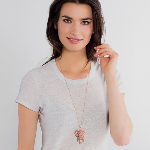 """pendant """"elephant"""" from the Glam & Soul collection in the THOMAS SABO online store"""
