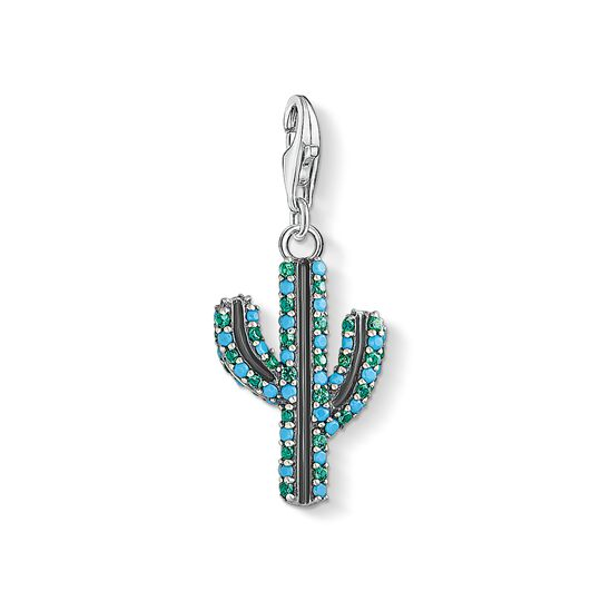 Charm pendant Cactus turquoise from the Charm Club collection in the THOMAS SABO online store