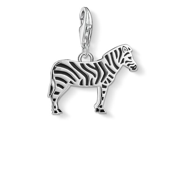 "Charm pendant ""zebra"" from the  collection in the THOMAS SABO online store"