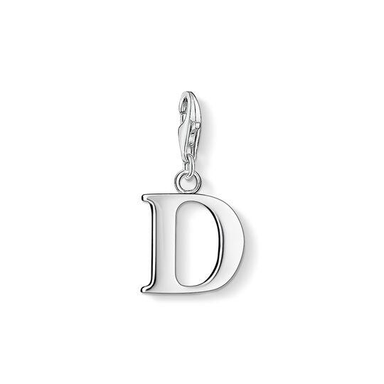 Charm-Anhänger Buchstabe D aus der Charm Club Kollektion im Online Shop von THOMAS SABO