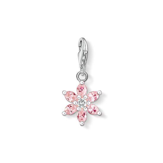 """Charm-Anhänger """"Rosa Blume"""" aus der  Kollektion im Online Shop von THOMAS SABO"""