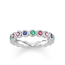 "anello ""Royalty pietre multicolor"" from the Glam & Soul collection in the THOMAS SABO online store"