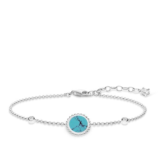 """bracelet """"Turquoise stone"""" from the Glam & Soul collection in the THOMAS SABO online store"""