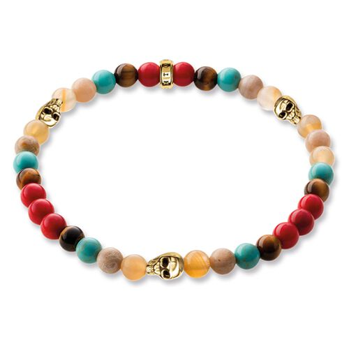 """bracelet """"skull"""" from the Rebel at heart collection in the THOMAS SABO online store"""