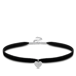 "Choker ""heart pavé"" from the Glam & Soul collection in the THOMAS SABO online store"