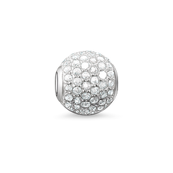 Bead white pavé from the Karma Beads collection in the THOMAS SABO online store