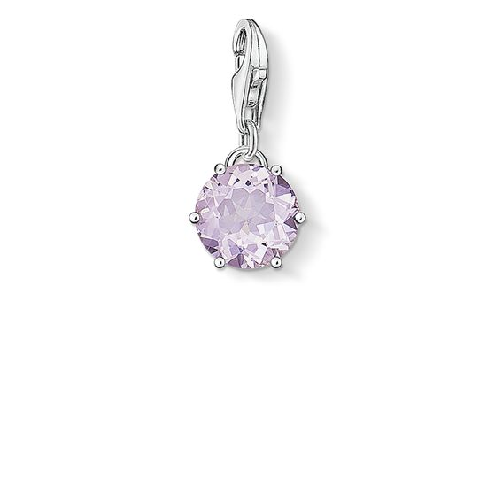 "Charm pendant ""birth stone June"" from the  collection in the THOMAS SABO online store"