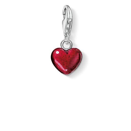 "Charm pendant ""red heart"" from the  collection in the THOMAS SABO online store"