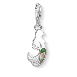 "Charm pendant ""mermaid abalone mother-of-pearl"" from the  collection in the THOMAS SABO online store"