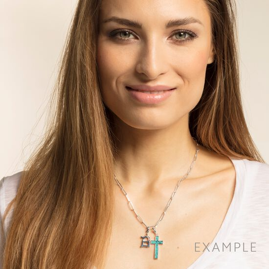 """Charm pendant """"letter S silver"""" from the  collection in the THOMAS SABO online store"""