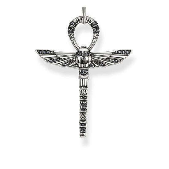 Pendant cross of life ankh with scarab pe741 thomas pendant from the glam amp soul collection in the thomas sabo online mozeypictures Image collections