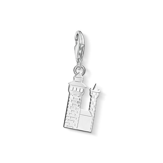 Charm pendant Nuremberg Castle from the Charm Club collection in the THOMAS SABO online store