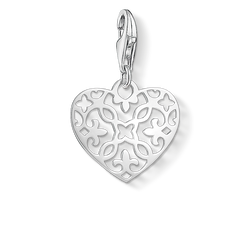 "Charm pendant ""ornament heart"" from the Glam & Soul collection in the THOMAS SABO online store"