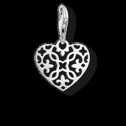 """pendentif Charm """"ornement cœur"""" de la collection Glam & Soul dans la boutique en ligne de THOMAS SABO"""