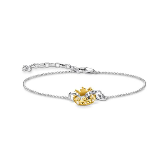 Bracelet crown gold from the  collection in the THOMAS SABO online store