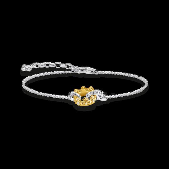 Bracelet couronne or de la collection Glam & Soul dans la boutique en ligne de THOMAS SABO