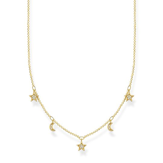 Necklace crescent moons & stars from the Charming Collection collection in the THOMAS SABO online store