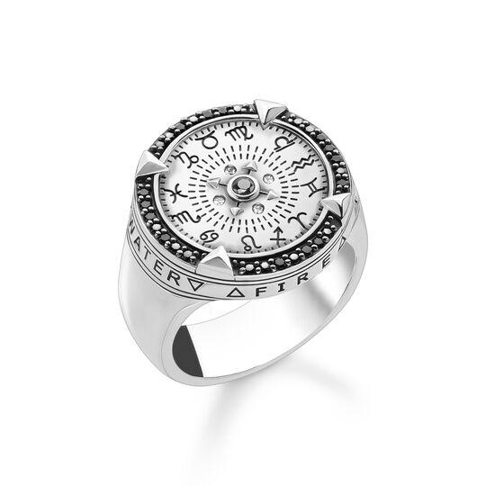 Ring Elements of Nature silver ur kollektionen  i THOMAS SABO:s onlineshop