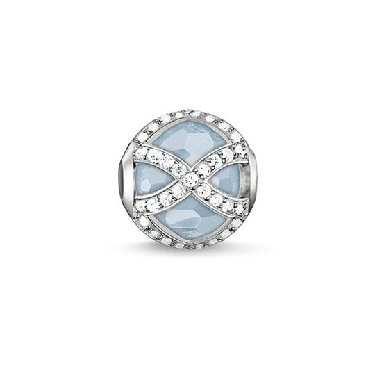 Bead light-blue Maharani from the Karma Beads collection in the THOMAS SABO online store