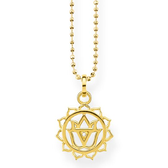 "necklace ""solar plexus chakra"" from the Glam & Soul collection in the THOMAS SABO online store"