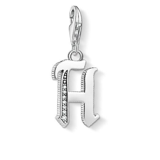 colgante Charm letra H plateado de la colección  en la tienda online de THOMAS SABO