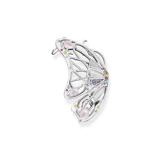 Single earring butterfly silver from the Glam & Soul collection in the THOMAS SABO online store