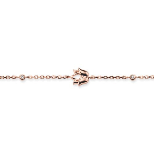 """bracelet """"lotus flower"""" from the Glam & Soul collection in the THOMAS SABO online store"""