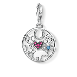 Charm pendant fortune symbols from the  collection in the THOMAS SABO online store