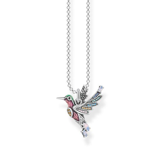 Necklace colourful hummingbird silver from the  collection in the THOMAS SABO online store