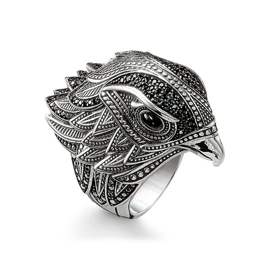 ring falcon from the Rebel at heart collection in the THOMAS SABO online store