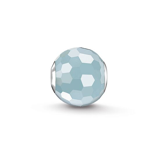 "Bead ""light-blue"" from the Karma Beads collection in the THOMAS SABO online store"