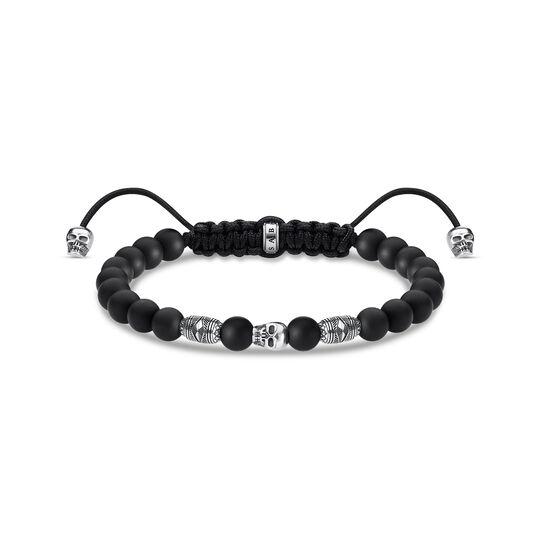 bracelet tête de mort noire de la collection  dans la boutique en ligne de THOMAS SABO